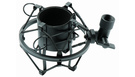 Supporto Antivibrazione (ragno) per Microfono da Studio Nero
