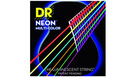 DR STRINGS MCA-10 Neon Hi-Def Multi-Color Acoustic Extra Light