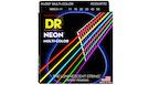 DR STRINGS MCA-11 Neon Hi-Def Multi-Color Acoustic Custom-Lite