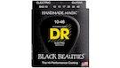 DR STRINGS BKE-10 Black Beauties