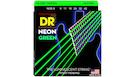 DR STRINGS NGE-9 Neon Hi-Def Green Electric Lite