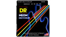 DR STRINGS MCB-45 Neon Hi-Def Multi-Color Bass