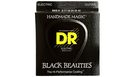 DR STRINGS BKE-9 Black Beauties Electric Lite