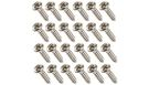 FENDER Pickguard Screws (set da 24)