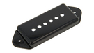 GIBSON P90 Pickup Cover with Dog-Ear Black