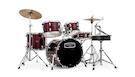 MAPEX Tornado 5844 Jazz Rossa con Hardware e Piatti