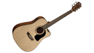 WASHBURN D5CE Apprentice Cutaway Natural B-Stock