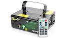 BEAMZ Cupid Double Laser RG Gobo DMX IRC 210mW