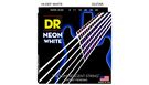 DR STRINGS NWE-9/46 Neon Hi-Def White Electric