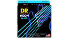 DR STRINGS NBE-10 Neon Hi-Def Blue Electric
