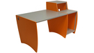 PALLADIO ULTRAdesk Studio Pro - Red Orange