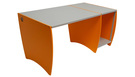 PALLADIO ULTRAdesk Studio Home - Red Orange