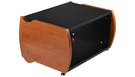 ZAOR Miza Desktop Rack 6 RU - Black Cherry
