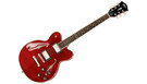 HOFNER HCT VTH Verythin Deluxe Transparent Red