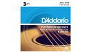 D'ADDARIO EJ16 3D (pack 3 mute)