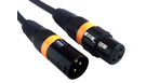 AMERICAN DJ AC-DMX Cable XLR M / XLR F 1.5MT