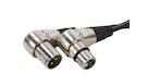 AMERICAN DJ AC-DMX3/1,5-90 - 90° XLR Cables 110 OHM