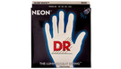 DR STRINGS NWB-45 Neon Hi-Def White Bass