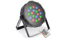 BEAMZ FlatPAR 18x 1W RGB LED DMX IRC