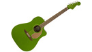 FENDER Redondo Player WN Electric Jade
