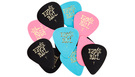 ERNIE BALL 9176 Assorted Color Cellulose Picks Thin (12 pcs)
