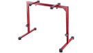 KONIG & MEYER 18810 Table-Style Keyboard Stand Omega Ruby Red