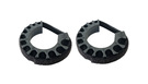 KONIG & MEYER 21404 Cable Clamp Black (coppia)