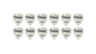 TAYLOR Celluloid 351 Picks White Pearl .96mm (Heavy) 12-Pack
