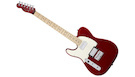 FENDER Squier Contemporary Telecaster HH MN Dark Metallic Red (Left handed)