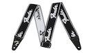FENDER Weighless Strap Running Logo B/W