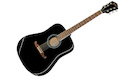 FENDER FA125 Dreadnought Black  + Gigbag