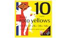 ROTOSOUND R10-2 Roto Yellows Double Decker