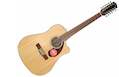 FENDER CD140SCE Dreadnought 12 Natural with Case
