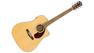 FENDER CD140SCE Dreadnought Natural with Case