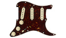 FENDER Pre-Wired Strat PickGuard SSS Texas Special Tortoise Shell