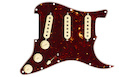FENDER Pre-Wired Strat PickGuard SSS 57/62 Tortoise Shell