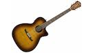 FENDER FA345CE Auditorium LR 3-Tone Tea Burst