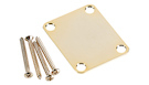 FENDER 4-Bolt Vintage-Style Neck Plate Plain Gold