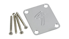 FENDER 4-Bolt Vintage-Style Neck Plate F Chrome