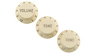 FENDER Road Worn Strat Knobs Aged White