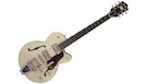 GRETSCH G6659T Broadkaster JR with Bigsby Lotus Ivory Walnut Stain