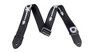 CHARVEL Logo Straps Black with White Logo