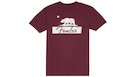 FENDER Burgundy Bear Unisex T-Shirt L