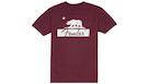FENDER Burgundy Bear Unisex T-Shirt S