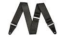 """FENDER Tooled Leather Guitar Strap 2"""" Black"""