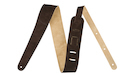 "FENDER 2"" Suede Strap Brown/Tan Reversible"