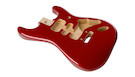 FENDER Deluxe Strat Alder Body Candy Apple Red