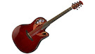 OVATION CE44-RR Celebrity Elite High-Gloss Ruby Red