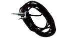 ROCKBAG RCL 30259 TC C/BLK Instrument Cable Jack Angled/Straight Black Tweed 9m