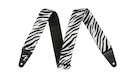 "FENDER Wild Zebra Print Strap 2"""